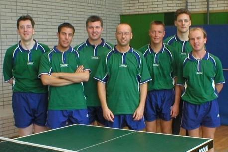 Die erfolgreiche 1. Herrenmannschaft 2001
